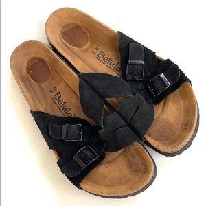 EUC Birkenstock / Betula leather sandals